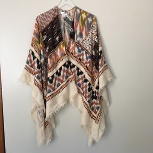 Sole Society Boho Cardigan Wrap